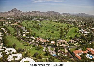 Lush Golf Course