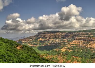 Lush Green Hills of Maharashtra