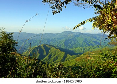 lush hills of Nagaland, tribal area, Northeast India