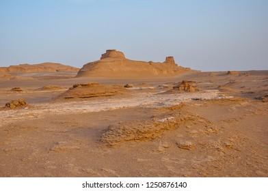 Lut Desert (Dasht-e Lut) - Salt desert near Kerman - Iran