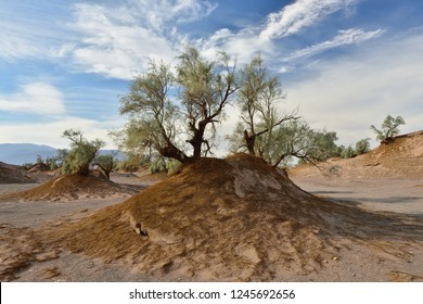The Lut Desert - Dasht-e-Lut the hottest and driest places on the planet, locate near Kerman,  Iran.