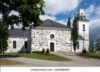 Lutheran cathedral, church in Kuopio, Finland built in early 19th century