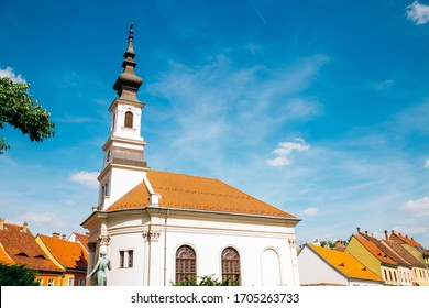 Lutheran Church of Budavar at Buda castle district in Budapest, Hungary