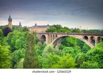 Luxembourg City Panorama, HDRI