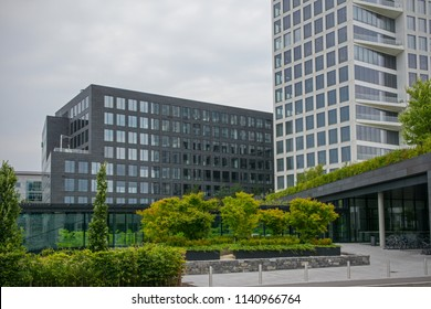 luxembourg kirchberg financial district