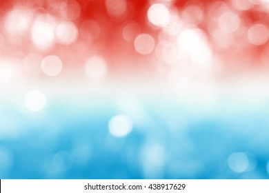 LUXEMBOURG : National flag. Soft blurred bokeh natural background. Abstract gradient desktop wallpaper.