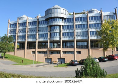 Luxembourg / Luxembourg - October 3, 2014: Deutsche Bank Luxembourg S.A. on Kirchberg Plateau in Luxembourg