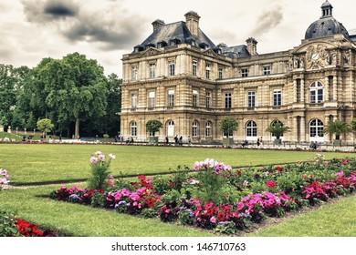 The Luxemburg garden, Paris.