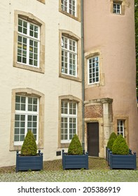 LUXEMBURG, LUXEMBOURG - 10 JULY 2014: Official residence of the prime minister of Luxembourg on 10 July 2014.