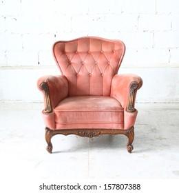 Luxurious armchair vintage
