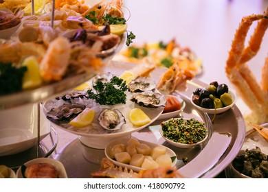 luxurious banquet hall