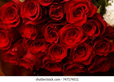 luxurious bouquets of roses for a romantic rendezvous couples