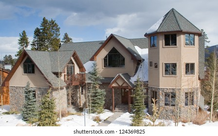 A luxurious corporate vacation and ski home in the Rocky Mountains of Colorado.