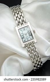 Luxurious female wrist watch