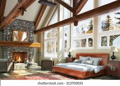 Rustic Cabin Interior Stock Images RoyaltyFree Images Vectors