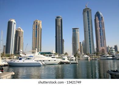 Luxurious Residence Buildings Rising in Dubai Marina