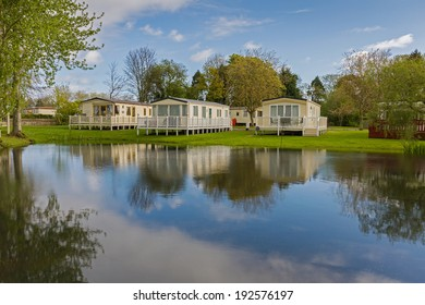 Luxurious Static Caravans in a Holiday Park