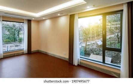 Luxurious villa interior living room