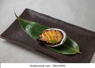Luxury abalone dishes Japanese food