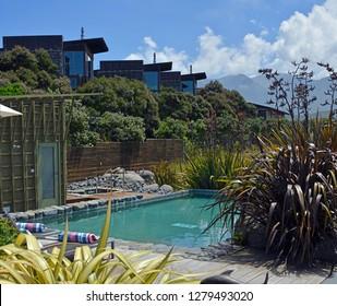 Luxury accommodation at Hapuku Lodge and Tree Houses, Kaikoura, New Zealand