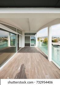 luxury apartment balcony, penthouse