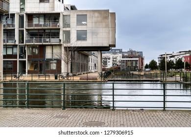 Luxury apartments in the Western Harbour in Malmo (Vastra Hamnen), Skane, Sweden
