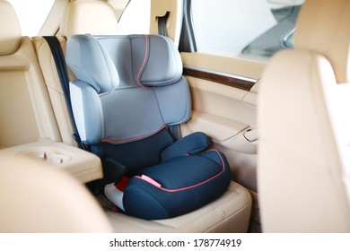 Luxury baby car seat for safety