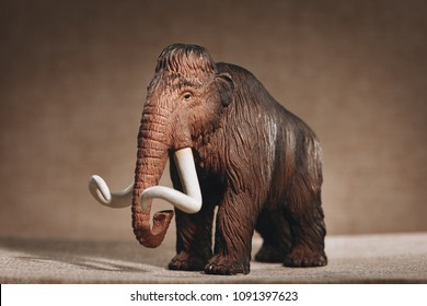 luxury baby rubber mammoth toy for animal collection.