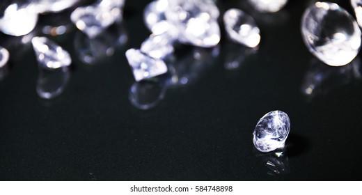 Luxury background with diamond. Wedding glamour style.
