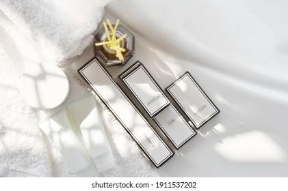 Luxury of Bath amenities set