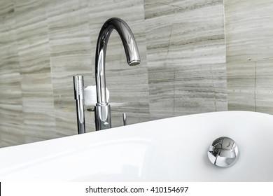Luxury bathroom tab
