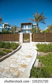Luxury  beach-garden house, Cyprus