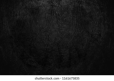 Luxury black leather texture background for your design