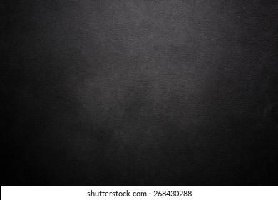 Luxury black leather texture background
