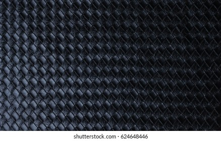 Luxury black leather texture background structure, clothes, cover, design, fabric fashion natural