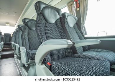 Luxury Bus & Coach interior views