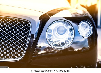 luxury car head lamp