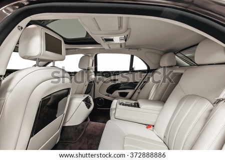 Luxury Car Inside Interior Prestige Modern Stock Photo Edit Now
