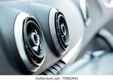 Luxury Car Interior AC Ventilation Deck
