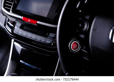 Car Interior Driving Cockpit Stock Photo Edit Now 508667392