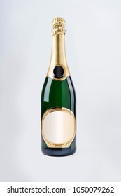 Luxury champagne bottle