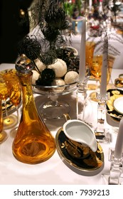 luxury christmas table