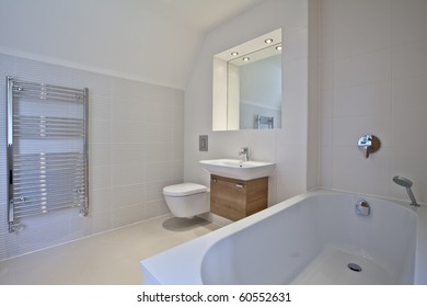 luxury contemporary bathroom suite