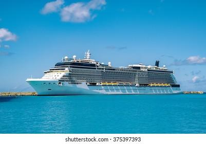 Luxury Cruise Ship - Ocean Liner