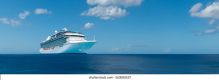 Luxury cruise vacation.