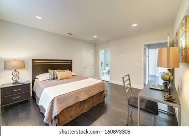 Luxury decorated bedroom