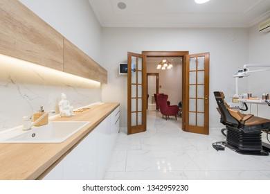 Luxury dental office in dental clinic