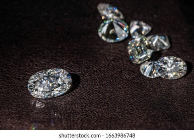 Luxury Diamonds. Big Carat Expensive Gemstone