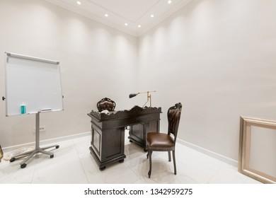 Luxury doctor office interior