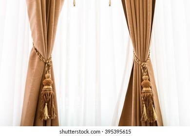 Luxury elegance vintage curtain (drape)